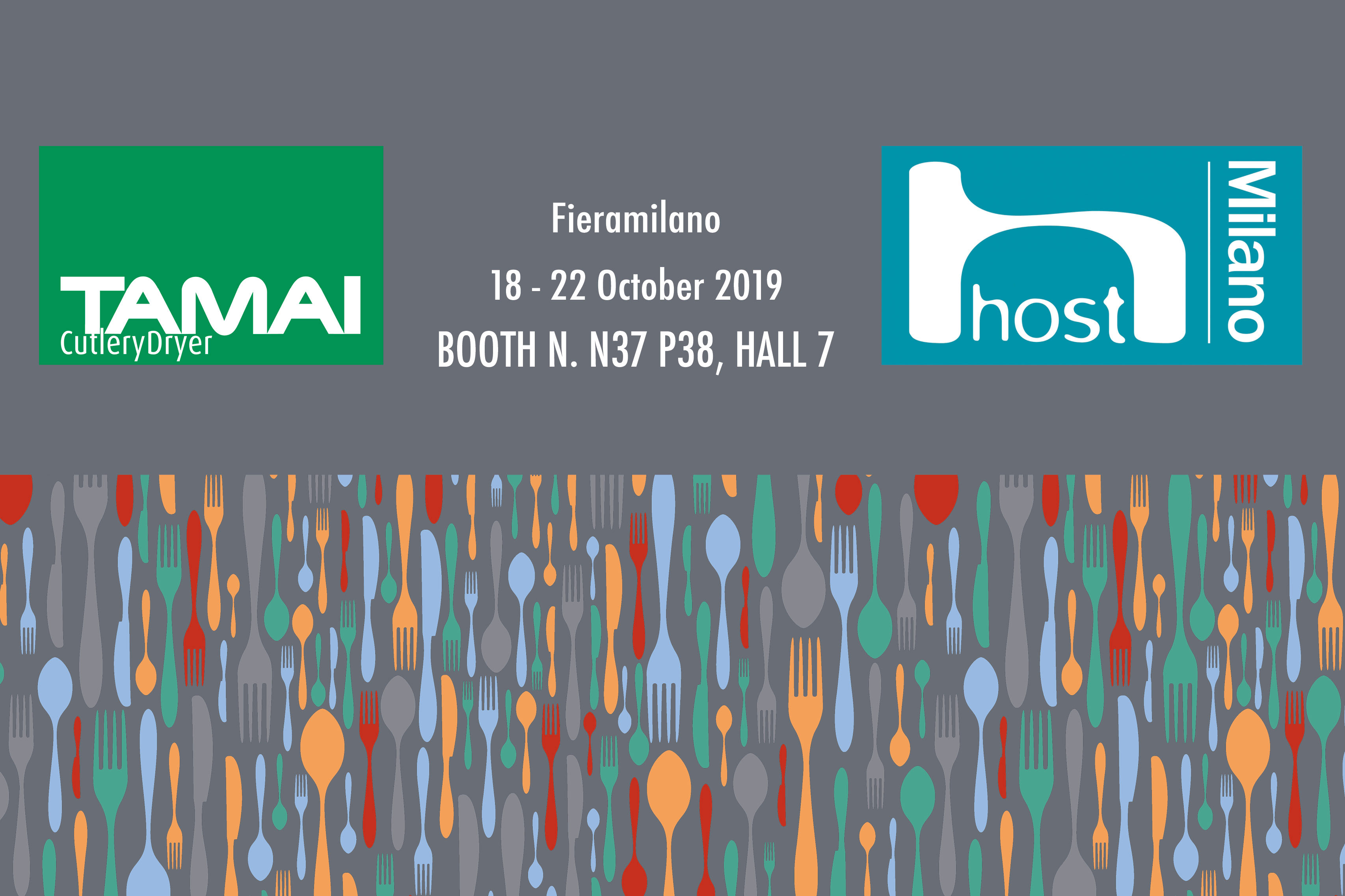Tamai Cutlery Dryer Host Milano 2019