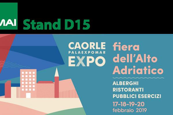 Fiera dell'Alto Adriatico a Caorle 2019 stand D15 Tamai Cutlery Dryer