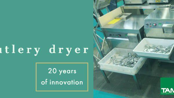 Tamai Cutlery Dryer asciuga posate professionali: le attrezzature per la ristorazione e i GRANDI IMPIANTI